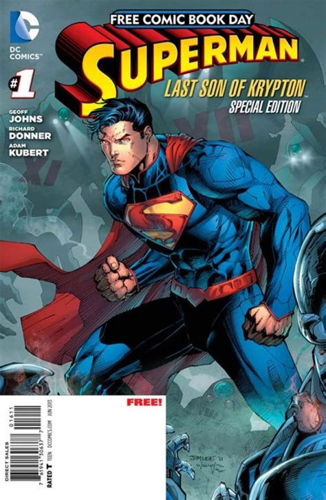 superman comic book pictures dc comics unveils superman offering for free comic book