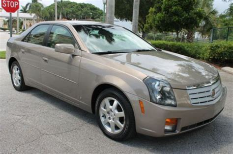 2007 Cadillac Cts 3 6 by Find Used 2007 Cadillac Cts 3 6 1 Owner Fla Kept Every