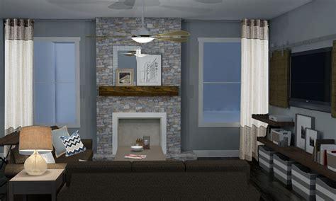 modern living room fireplace modern rustic living room design