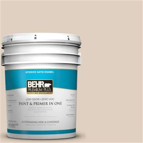 behr paint colors adobe sand behr premium plus 5 gal n240 2 adobe sand satin enamel