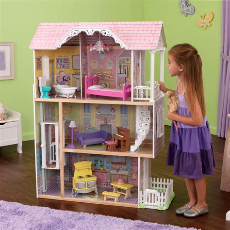 kid craft doll house kidkraft chateau dollhouse 65276