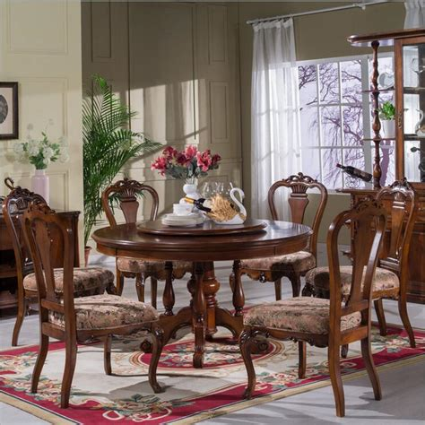 italian dining room sets style italian dining table solid wood italy style luxury dining table set with 6 chairs