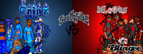 bloods vs crips picture 104212314 blingee com