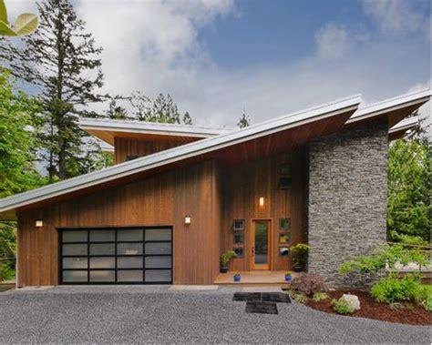 slanted roof house slanted roof houzz