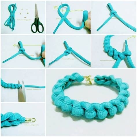 how to make jewelry bracelets how to make bracelets with shoelaces how to
