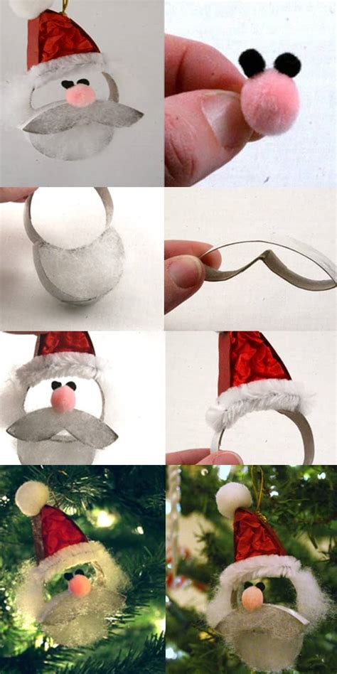 santa claus crafts ho ho ho make a santa claus from a paper roll