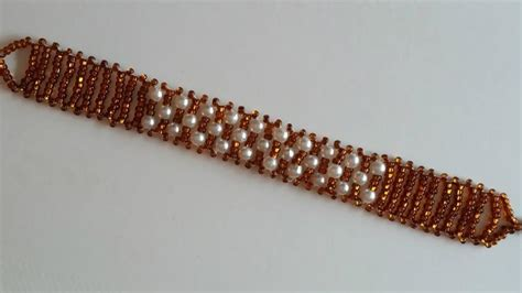 simple beading projects for beginners beaded bracelet for beginners seed and pearl