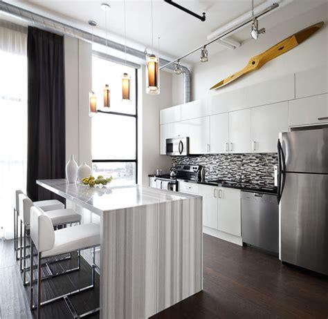 factory loft kitchen interior design toronto modern