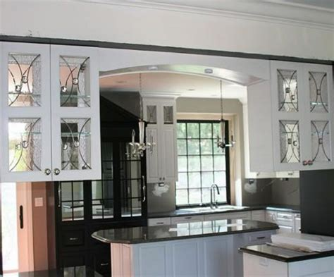 design glass for kitchen cabinets glass designs for kitchen cabinet doors kitchentoday