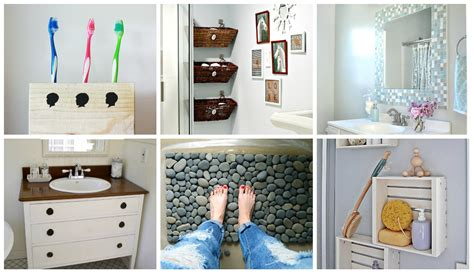diy small bathroom ideas 9 diy bathroom ideas diy thought