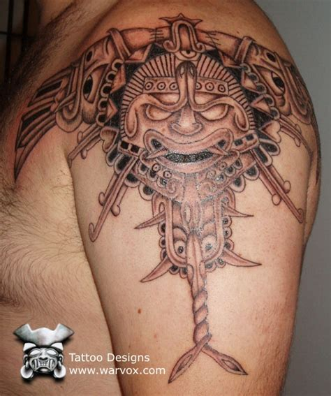 warvox tattoo photo gallery kinich ahau tattoo