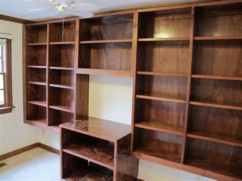 handmade bookshelves handmade built in bookshelves by carolina woodworking