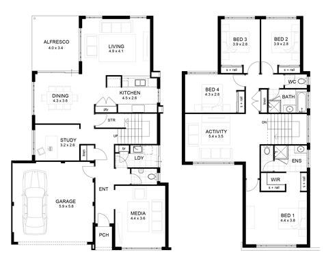 house floor planner two storey house floor plan homes floor plans