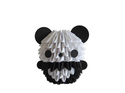 how to make 3d origami panda easy origami panda images