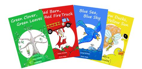 picture book series about teach colors