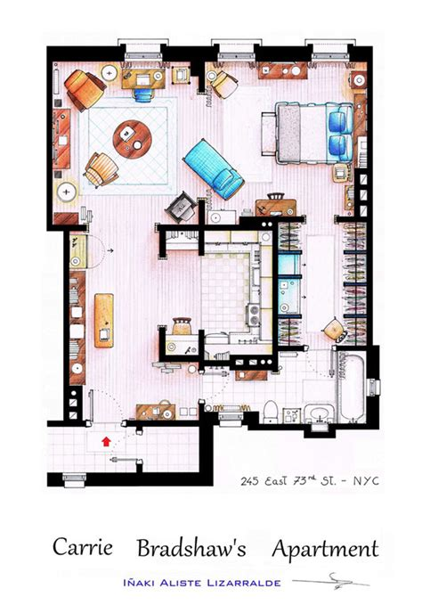 and the city apartment floor plan 10 floor plans of the most tv apartments in the