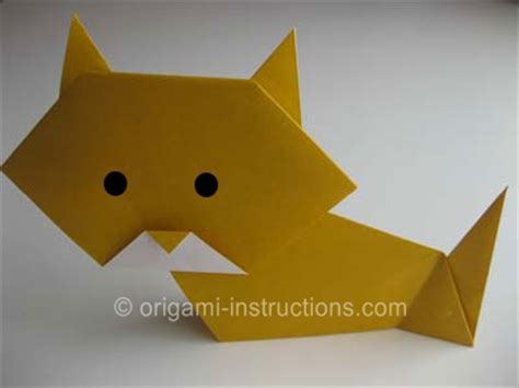 how to make an easy origami cat website with quite a few origami animal