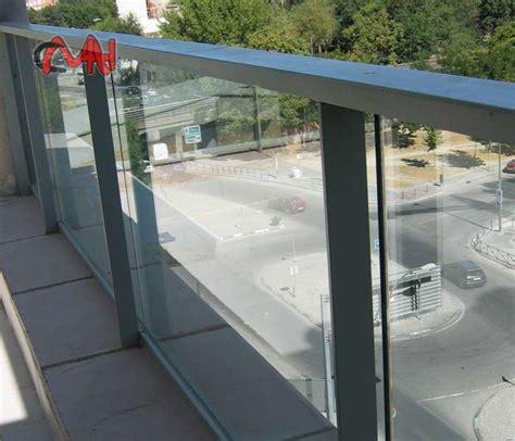 barandilla de aluminio barandillas aluminio y balcones aluminio cristal cmh