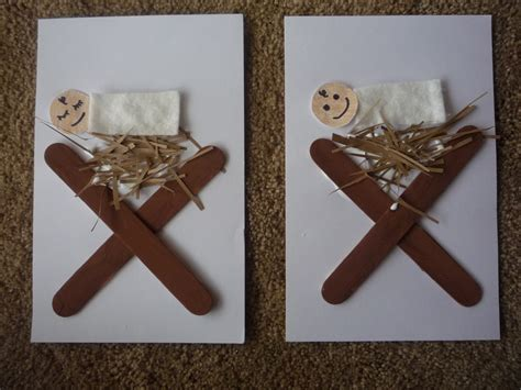 manger craft for crafty baby jesus in a manger