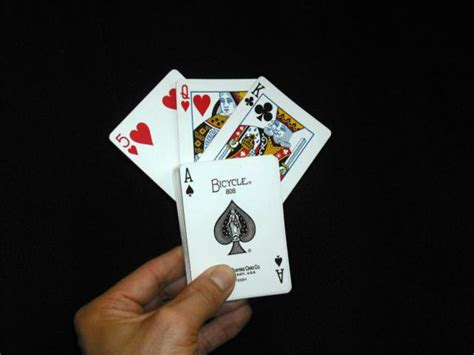 card magic the world s best easy card trick