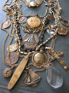 how to make vintage jewelry recycled vintage jewelry trash fashion
