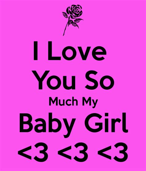 i you baby i you so much my baby