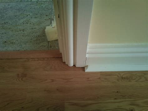 how to cut laminate beading how to undercut architrave floorsave