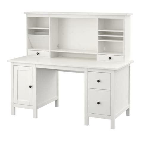 ikea hemnes computer desk hemnes desk with add on unit white stain ikea