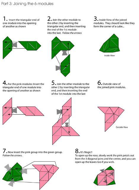 origami magic diagram cube origami origami