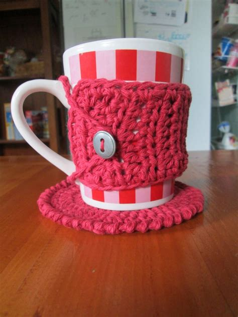 knitted mug hugs free pattern 17 best images about crochet cozies on sock