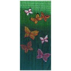 butterfly beaded door curtain butterfly bamboo door curtain co uk kitchen home