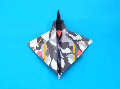 origami stunt plane joost langeveld origami page