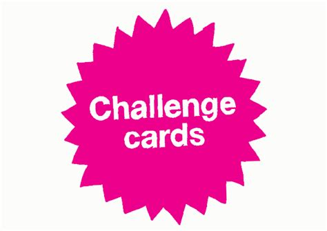 card challenges thirteen dyson foundation challenge cards