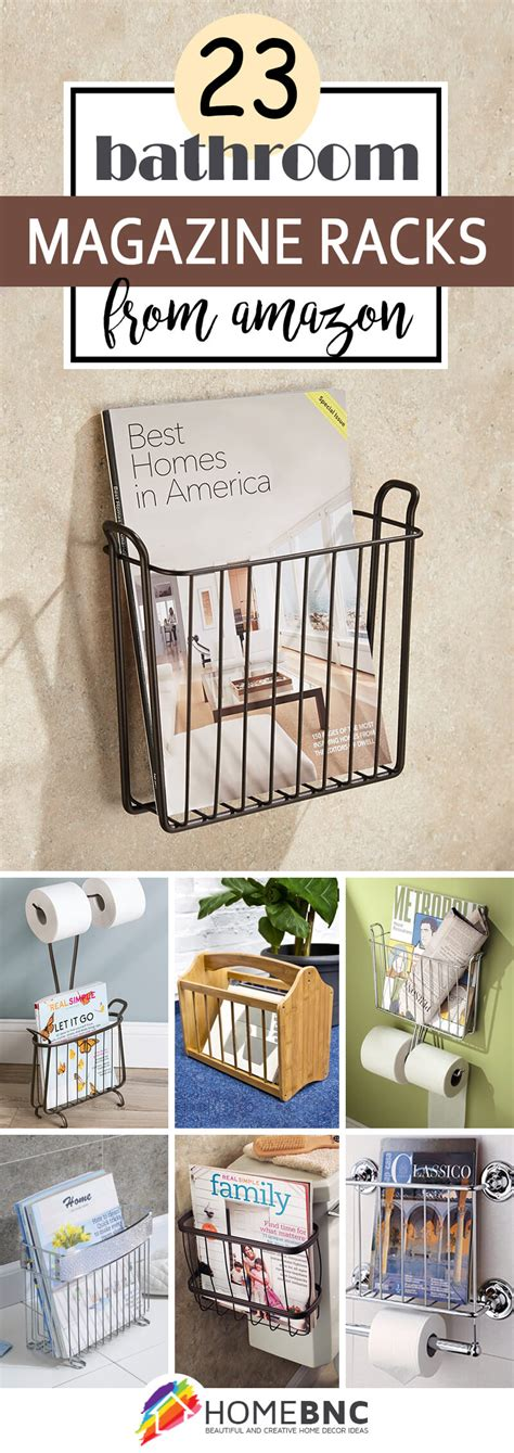 23 best bathroom magazine rack ideas to save space in 2017