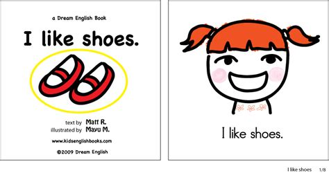 free children s picture books free printable book i like shoes childrens