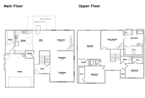 hubble homes floor plan details house