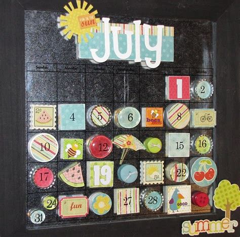 calendar craft projects best 25 magnetic calendar ideas on family