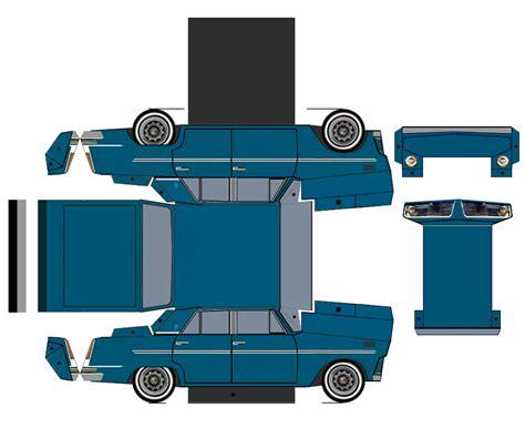 car paper craft fiat 126 car paper craft fiat 126