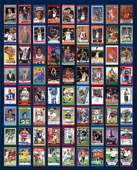 trading card trading card exhibit opens at husky heritage sports museum
