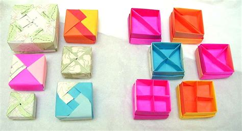 origami box with divider more origami boxes dividers by wombat1138 on deviantart