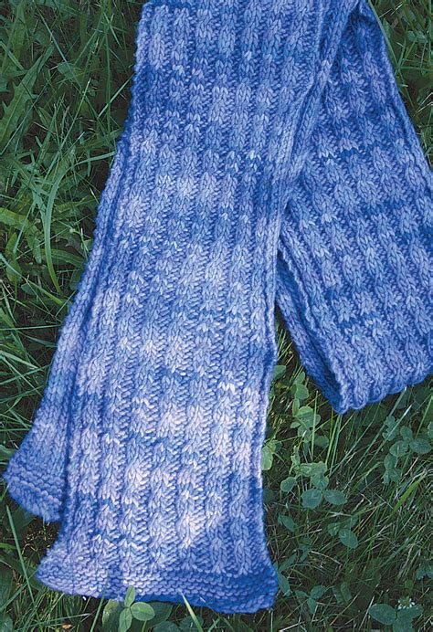 mock cable knit scarf pattern malabrigo mock cable scarf pattern medium weight yarn