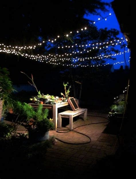 backyard lights string 1000 ideas about string lights outdoor on