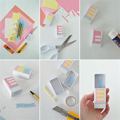 how to make birthday cards step by step matchbox birthday card