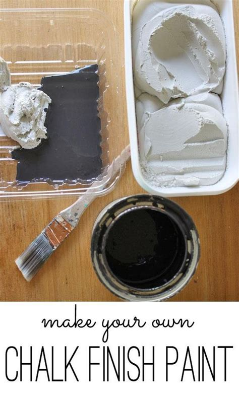 chalk paint diy plaster of chalk finish paint recipe really easy diy project