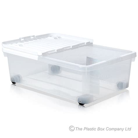 plastic bed buy 32lt bed plastic storage box on wheels