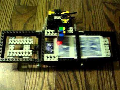 how to make a card shuffler lego mindstorms card shuffler