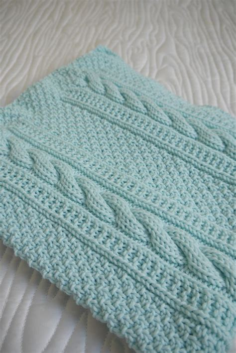 knitted baby comforter 25 best ideas about cable knit blankets on