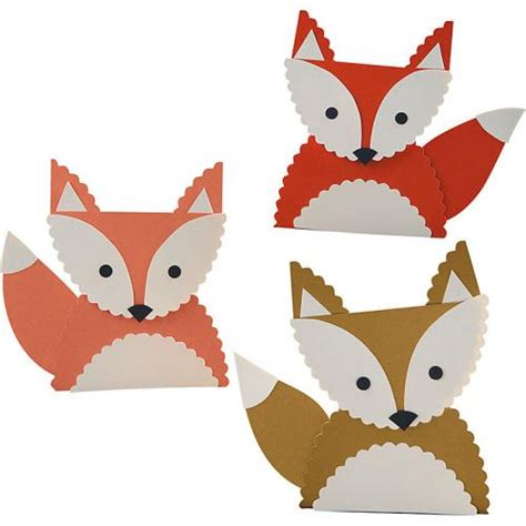 fox crafts for fall crafts pittr pattr