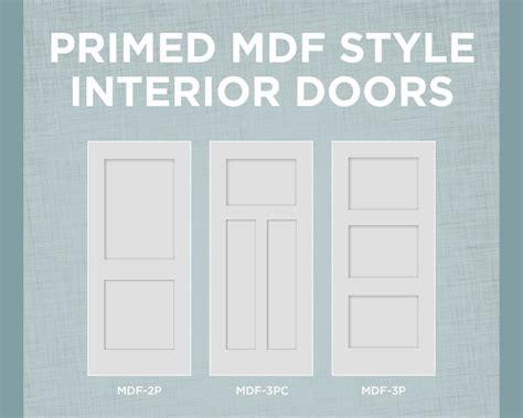 solid mdf interior doors primed mdf interior doors with true square sticking