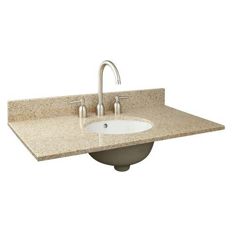 bathroom sink vanity top 37 quot x 19 quot narrow depth granite vanity top for undermount